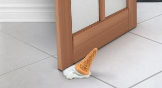 How to install door stop