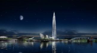 Какое самое высокое здание в Санкт-Петербурге