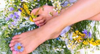 What diuretic drink swollen feet