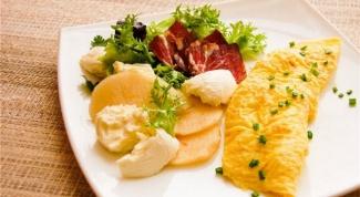 Питательные блюда из куриных яиц