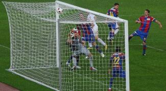 Какая ширина и высота у футбольных ворот