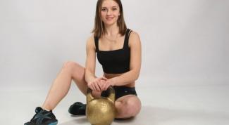 Какие группы мышц развивает гиря