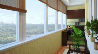 Как установить жалюзи на балконе