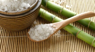 Крепкие ногти: морская соль