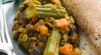 Как готовится самбхар и доса