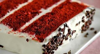 """Как приготовить торт """"Красный бархат"""""""
