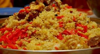 Как приготовить плов с рассыпчатым рисом