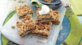 Как приготовить овсяные коржики с черносливом и орехами