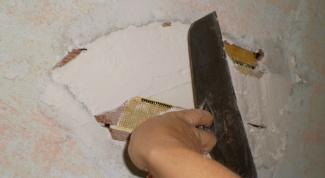 Способы восстановления гипсовой штукатурки