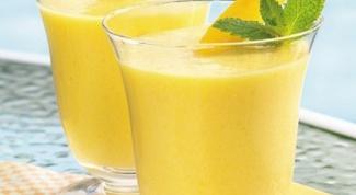 Как приготовить имбирный смузи с фруктами