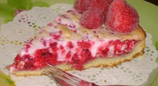 Как приготовить вкусный малиновый пирог