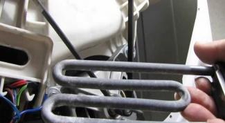 Как заменить тен в стиральной машине