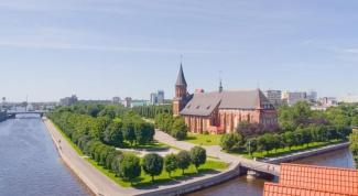 Какие документы нужны  для поездки в Калининград
