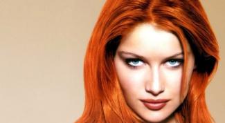 Как смыть рыжую краску с волос