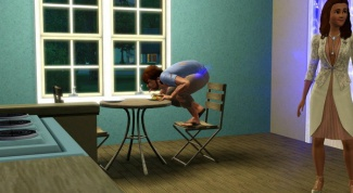 As in the Sims 3 to change the character