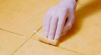 Как поменять затирку на плитке