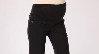 Как перешить джинсы для беременных