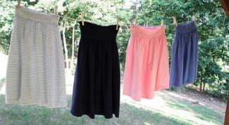 Как сшить юбку для беременной