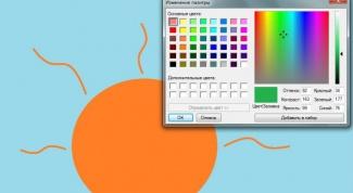 Как поменять цвет в paint