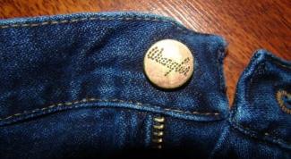 Как поменять пуговицу в джинсах