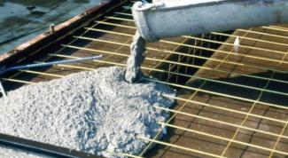 Какой бетон нужен  для заливки фундамента