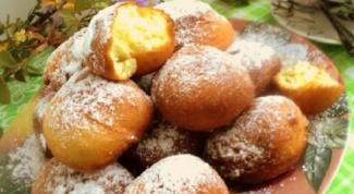 Рецепт быстрых пончиков