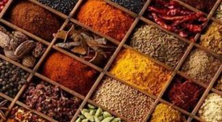 Какие приправы в какие блюда добавлять