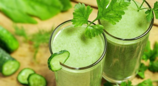 Зеленые смузи для очищения организма