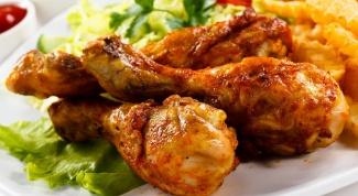 Куриные голени в испанском соусе