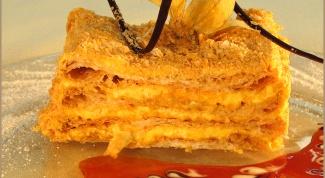 Как приготовить вкусный торт «Наполеон»