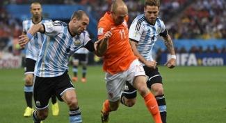 Полуфинал ЧМ 2014 по футболу: Нидерланды - Аргентина