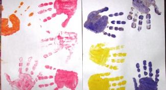 Первый рисунок малыша