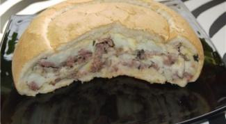Как приготовить хлеб с начинкой
