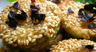 Оригинальные блюда: жареные огурцы