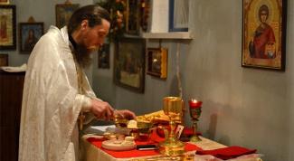 Из каких частей состоит божественная литургия