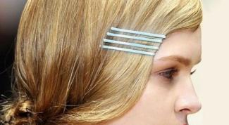 Как уложить волосы с помощью невидимок