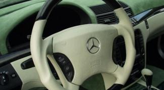 Как сделать руль кожаным