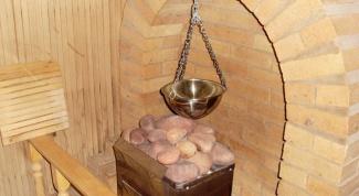 Как выбрать камень для бани