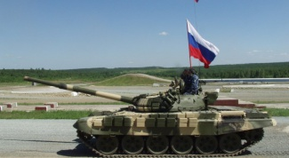 What are the tanks now in service with Russia
