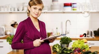 Что должно составлять рацион беременной