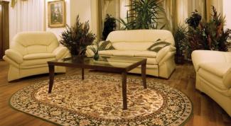 Как подобрать ковер к мебели