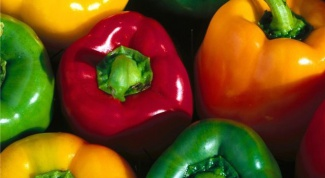 Why bell peppers are also called sweet