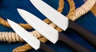 Как выбрать керамический нож