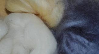 Как работать с шерстью