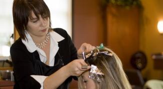 Как сделать градацию цвета на волосах