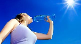 Почему в жару нужно много пить