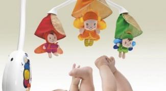 Как пользоваться мобилем для младенца