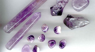 How is purple stone