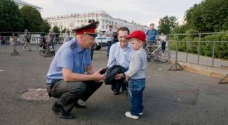 Как не потерять ребенка во время массовых гуляний