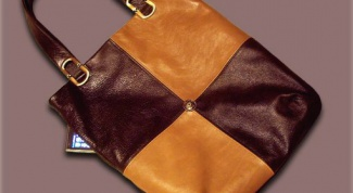How to sew a leather bag for myself